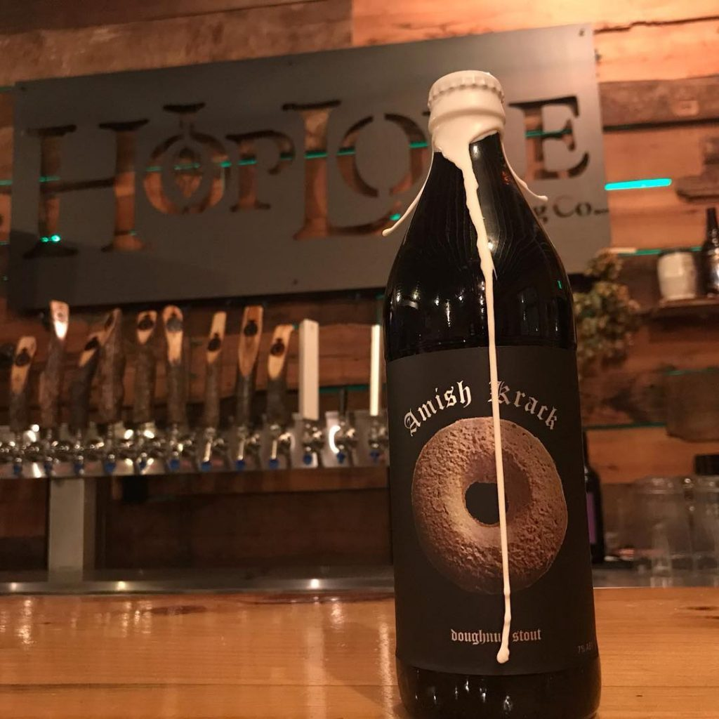 HopLore Brewing Barrel Aged Amish Krack