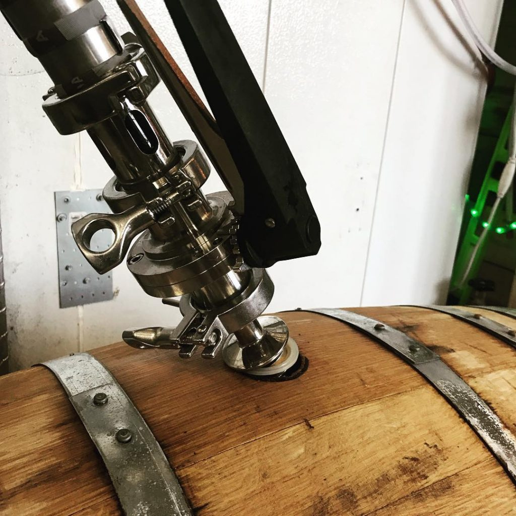 HopLore Brewing Barrel Aging