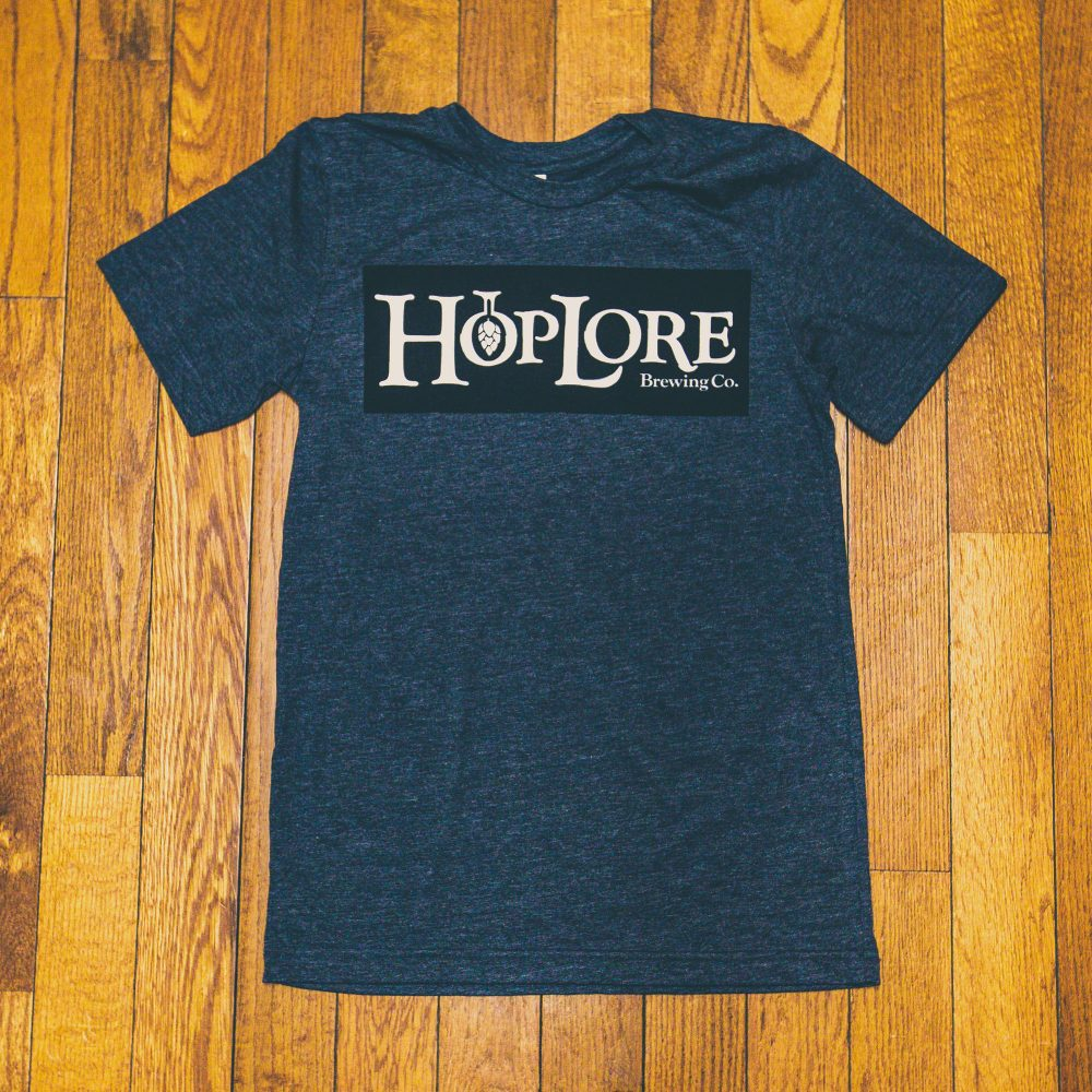 HopLore Brewing Boxed Logo Tee