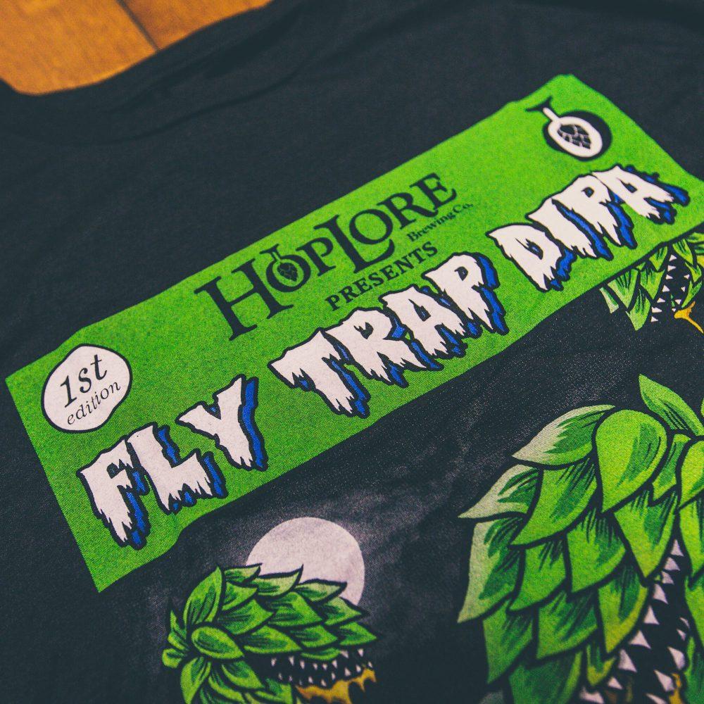 HopLore Brewing Fly Trap Dipa Tee
