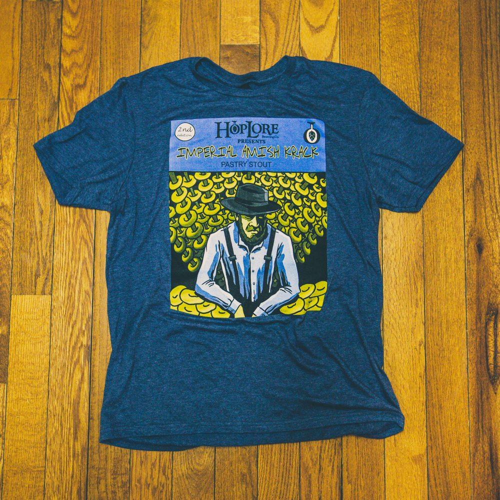 HopLore Brewing Imperial Amish Krack T-Shirt