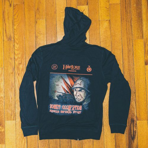HopLore Brewing Soviet Occupation Russian Imperial Stout Full-Zip Hoodie