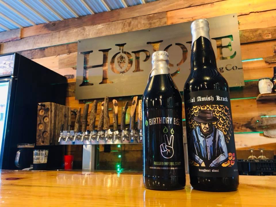HopLore Brewing 2 Year Anniversary RIS Amish Krack