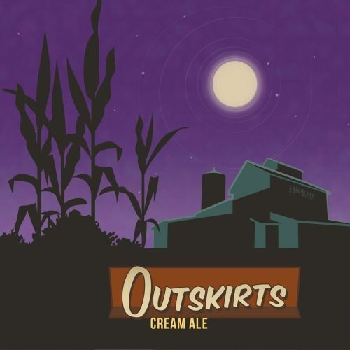 HopLore Brewing Outskirts Cream Ale