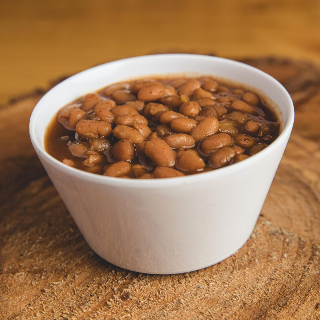 HopLore Brewing Housemade Bourbon Baked Beans