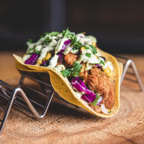HopLore Brewing Tandoori Chicken Taco