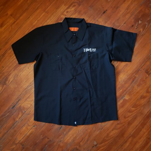 HopLore Brewing Garage Button Up Shirt