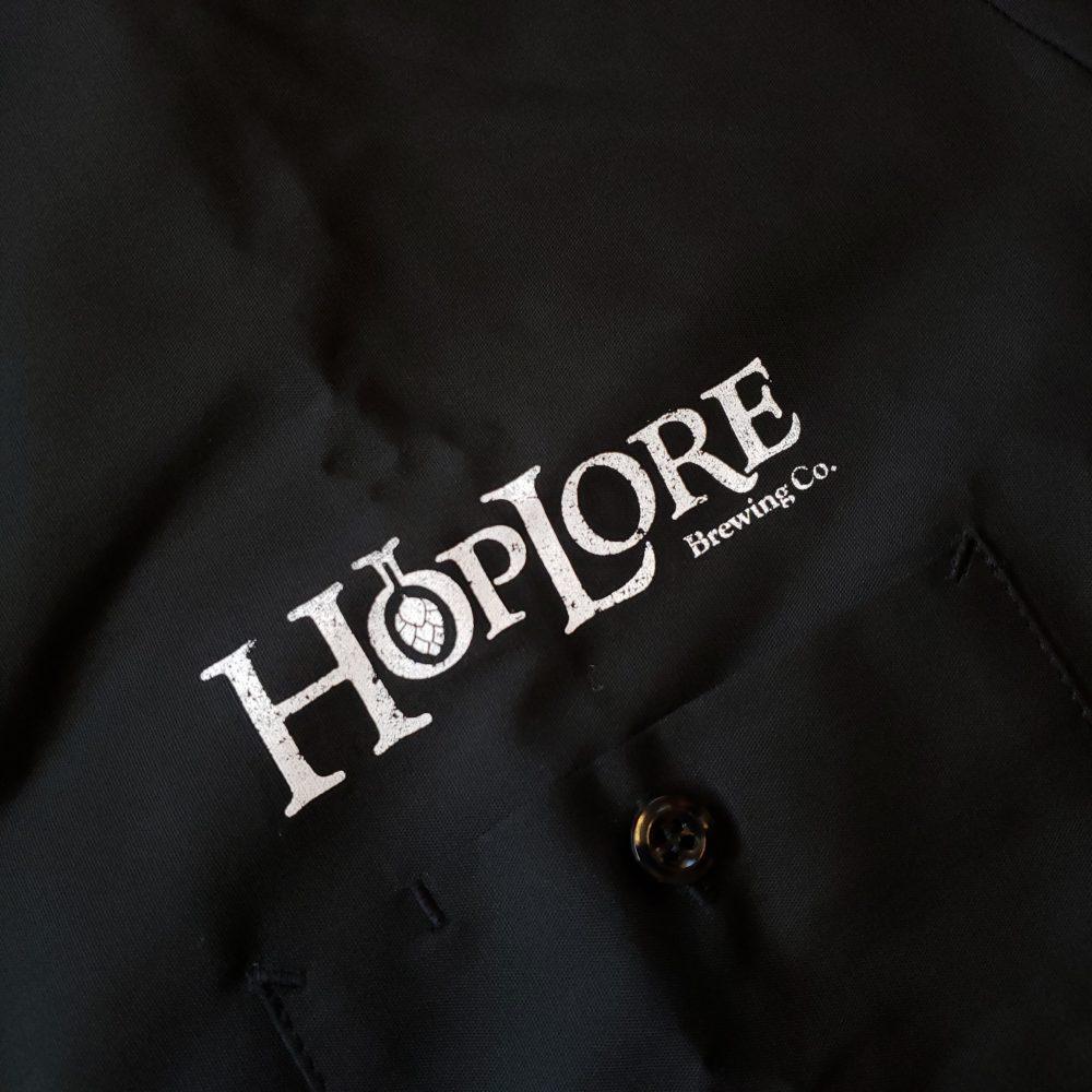 HopLore Brewing Garage Button Up Shirt