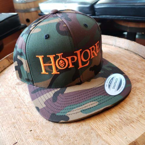 HopLore Camo Snapback