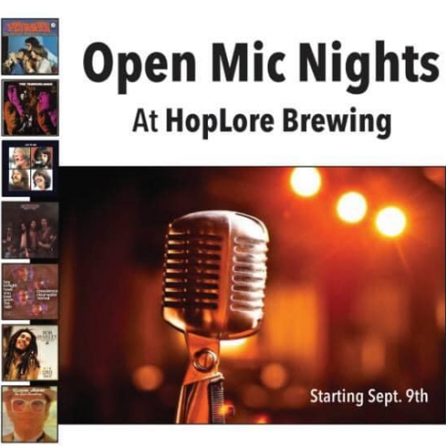Open Mic Night at HopLore Brewing